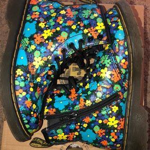 Dr. Martens Shoes - Floral Dr Martens in Kids Size 1